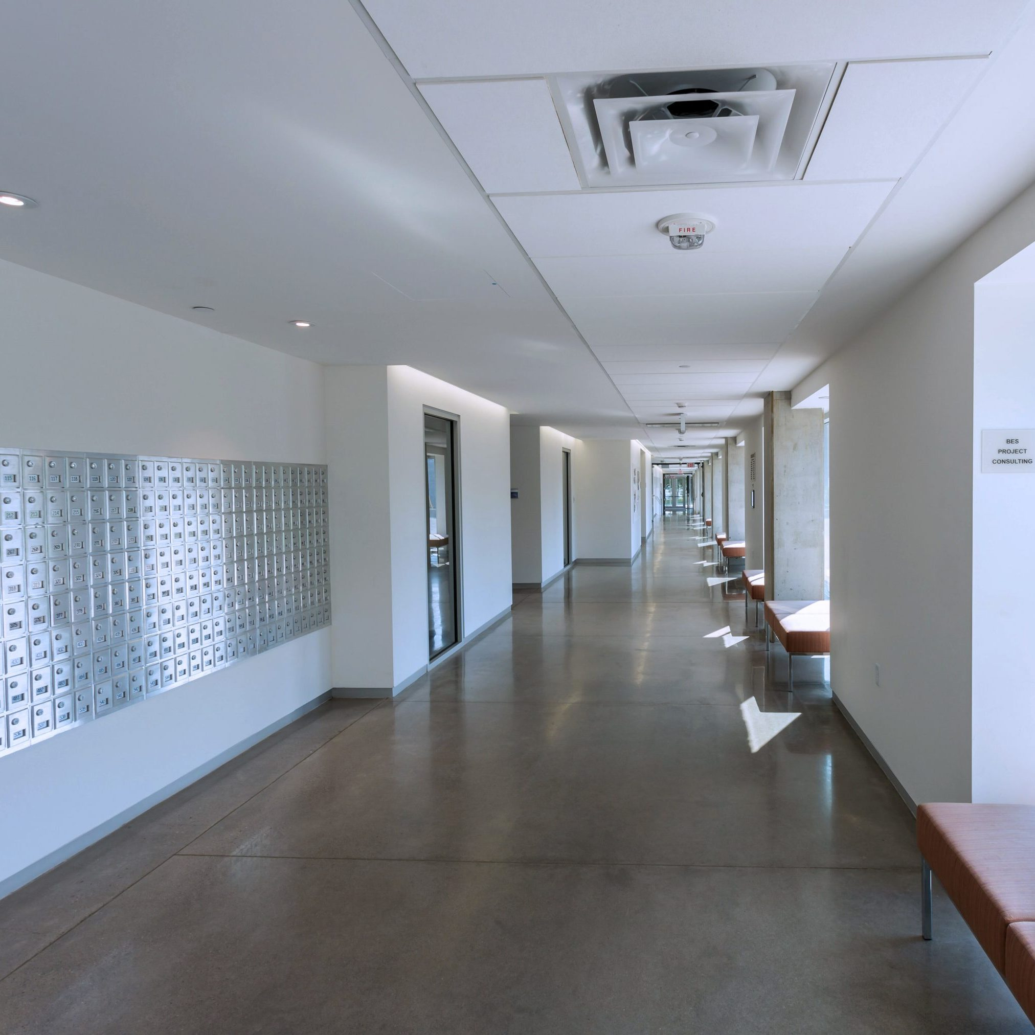 Commercial Interior Painting Lobby