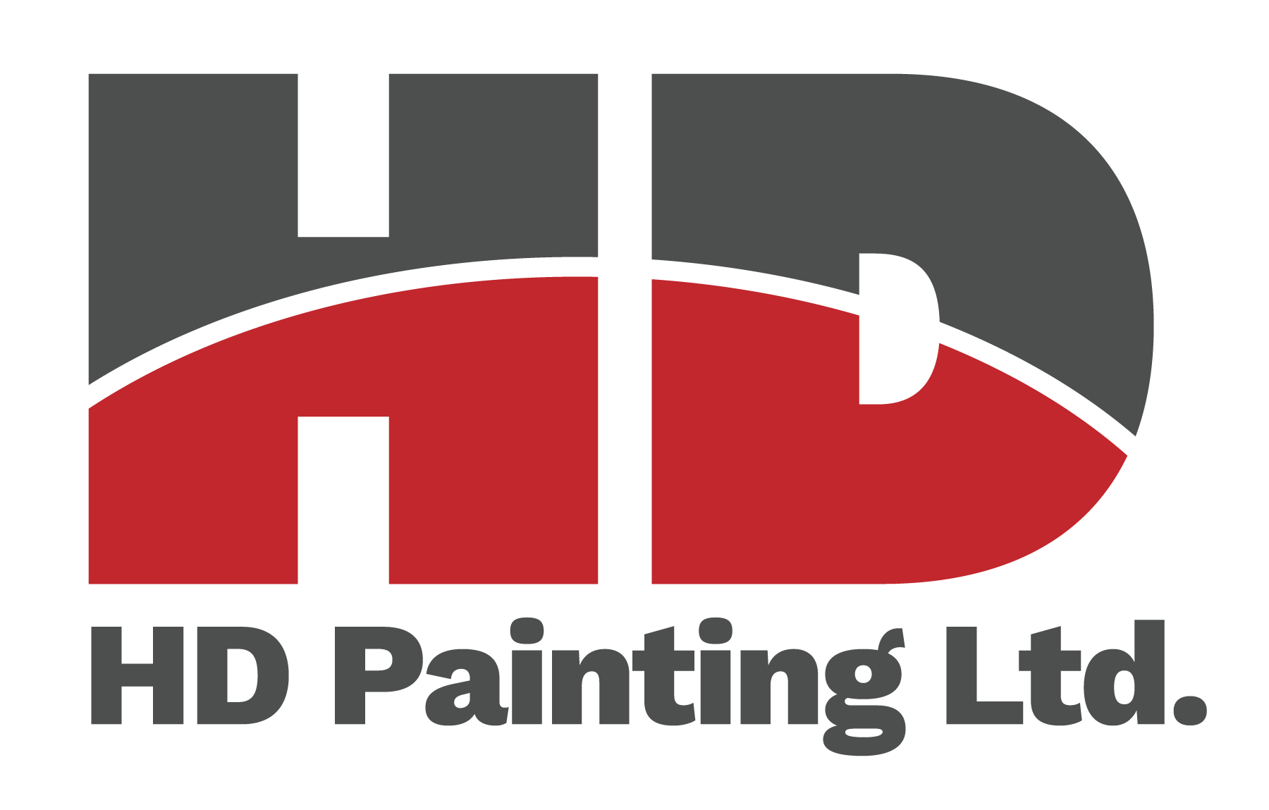 HD Commercial Painting Logo