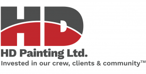 HD Commercial Painting Logo with Tagline