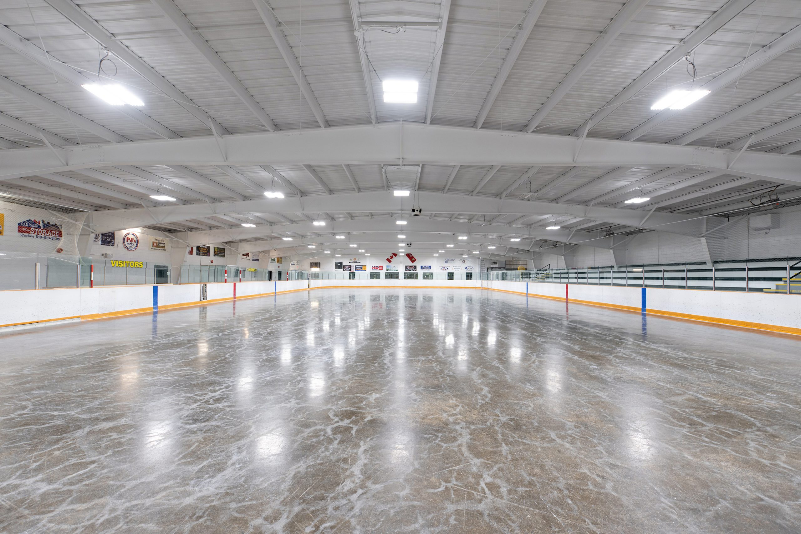 HD Commercial Maintenance Painting: West Elgin Arena